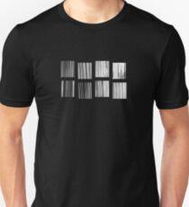 Fragments - B&W Halftone Unisex T-Shirt