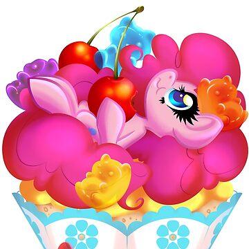 PonyCake Pinkie Pie by BambooDog