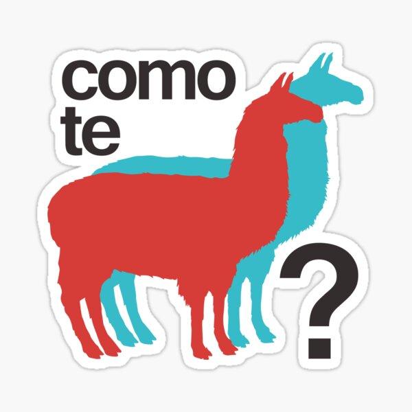 Como te llamas? Sticker