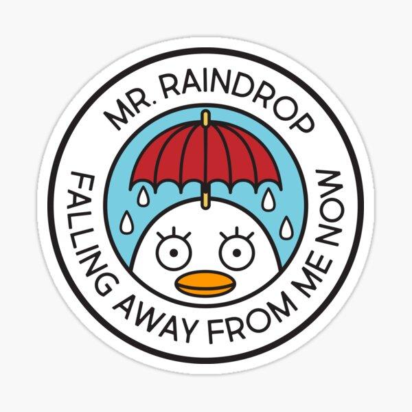 Mr Raindrop Sticker