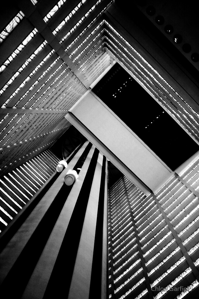 Hotel Elevators by Chloe Garfield