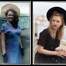 1940;s Fashion with MaryAnne and Isla Calendar Page 10 by OntheroadImage