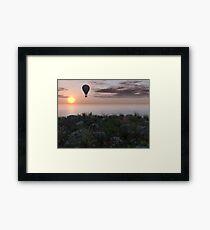 Balloon Ride Framed Print