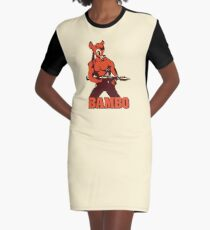 1de7d8ce76e Bambo Graphic T-Shirt Dress