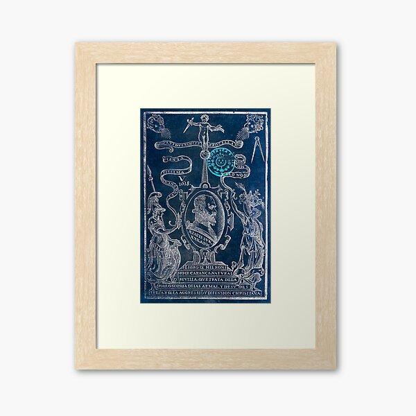 El arte de la defensa y ofensa cristiana Framed Art Print