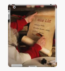 Nice List iPad Case/Skin