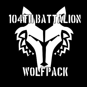 104th Battalion Wolfpack (White) by TheArtArmature
