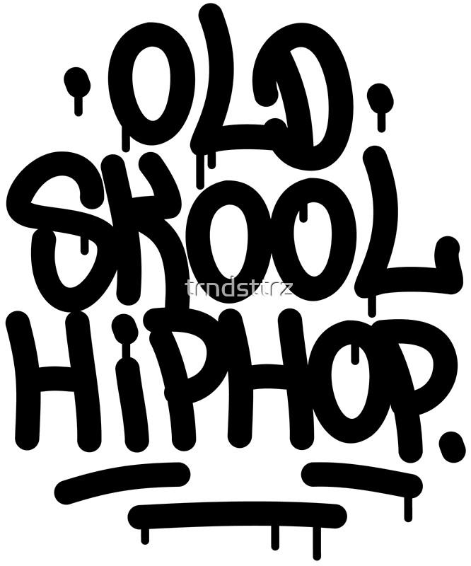 Old School Hip Hop Graffiti 90's Rap Design | Art Print