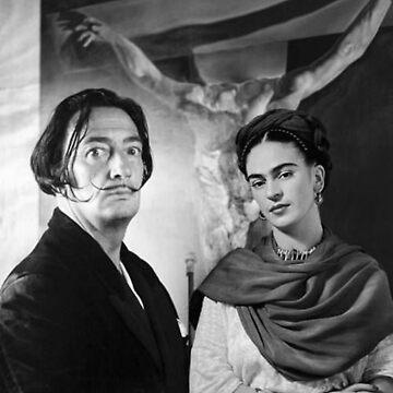 Dali & Frida Kahlo by ArtWithHeart11