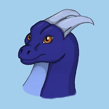 Little Indigo Dragon by Camkitty