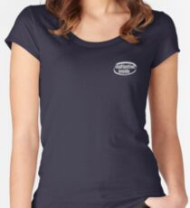 Inattentive Inside Women's Fitted Scoop T-Shirt