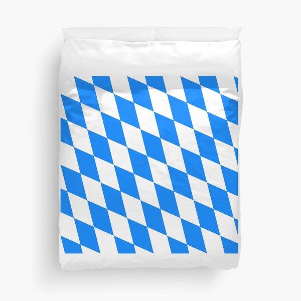 Flag of Bavaria Duvet Cover
