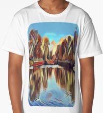 Clouds on the Lake Long T-Shirt