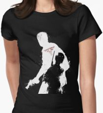 the last of us Women's Fitted T-Shirt