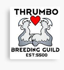 Thrumbo Breeding Guild Canvas Print