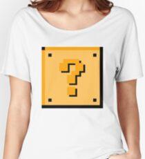 Question Block Women's Relaxed Fit T-Shirt