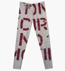 National Security No Smoking Leggings