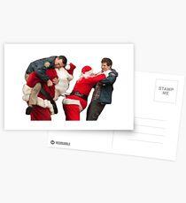 Xmas brawl  Postcards