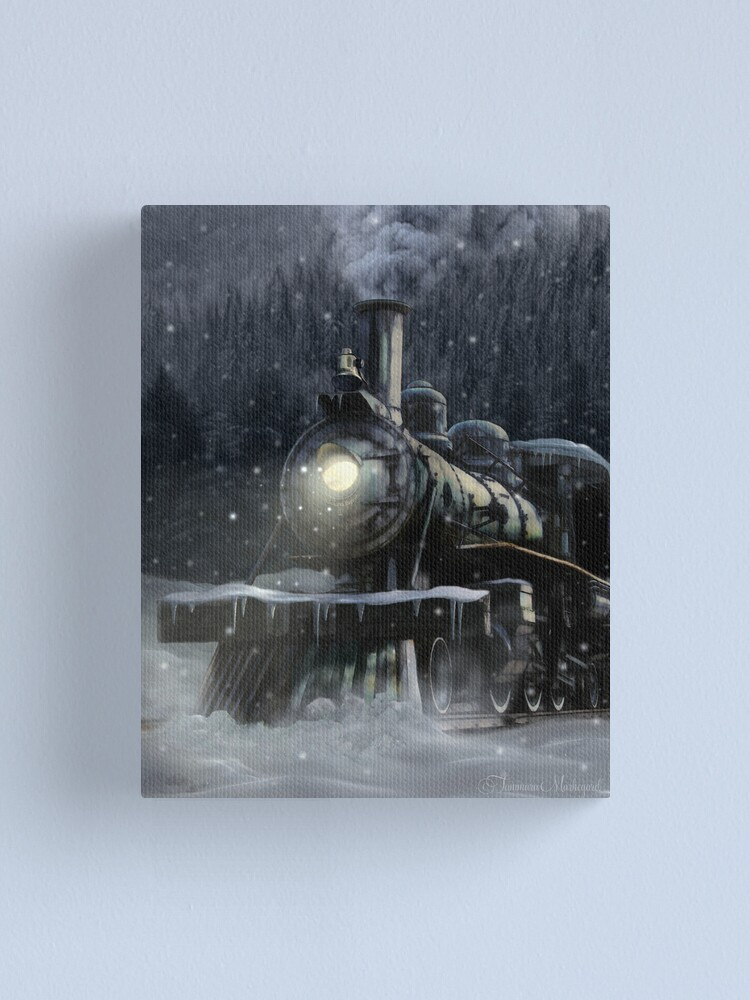 Alternate view of Steppeland Express Canvas Print