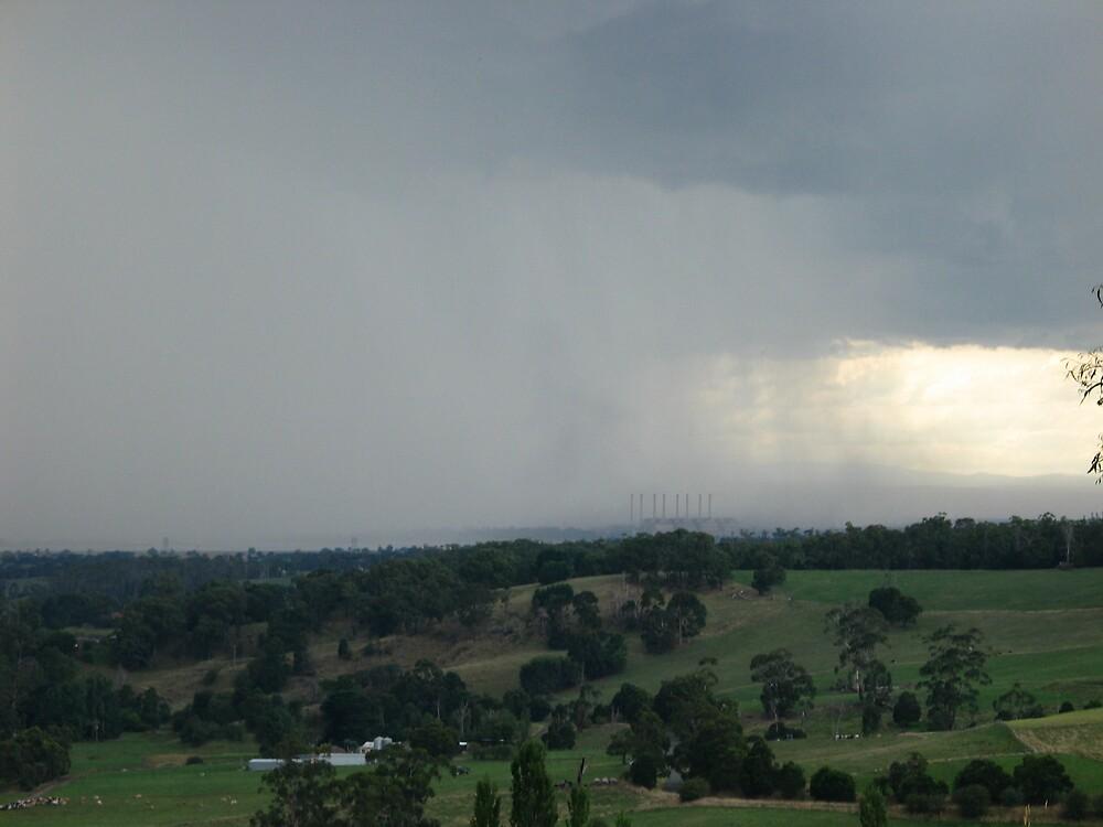 Rain in Gippsland by Daltsysnr