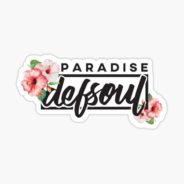 defsoul.   PARADISE [ver. Noir] Sticker