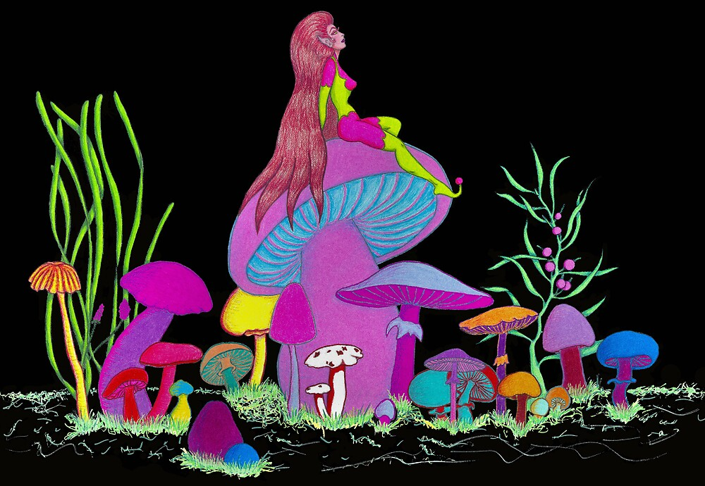 Shroom Goddess by Jawaher