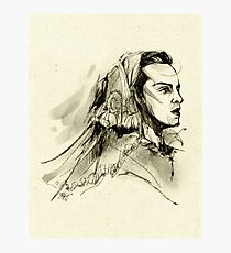 Victorian Bride Moriarty Photographic Print
