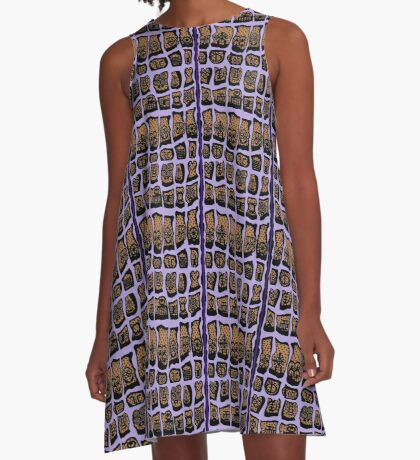 Iced Lavendar COTY 2018  A-Line Dress