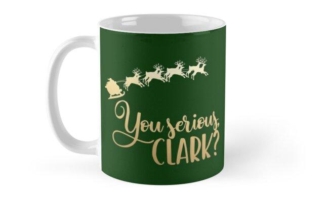 """""""you Serious Clark? Cousin Eddie Santa Quote Christmas"""