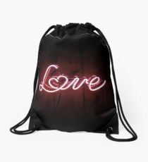 Love Drawstring Bag