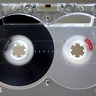 Old-School audio Cassette by adamcampen
