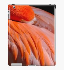 sleeping flamingo iPad Case/Skin