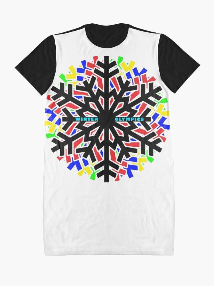 Alternate view of Winter Olympics  Graphic T-Shirt Dress