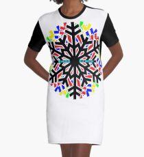 Winterolympiade T-Shirt Kleid