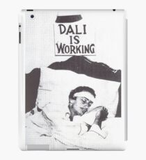 Dali is Working / Sleeping iPad Case/Skin