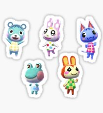 Animal Crossing Pocket Camp (cute) Sticker