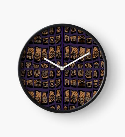 CLEMATIS COTY 2018 Clock