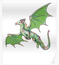 Cool Dragon Shirts for Dragons Lovers Poster