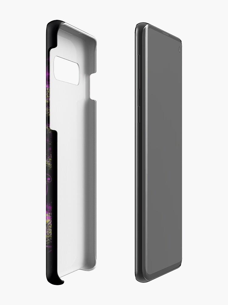 Alternative Ansicht von Funkel-Einhorn 2 Hülle & Klebefolie für Samsung Galaxy