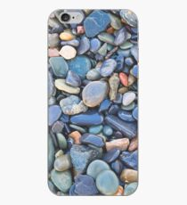 Wet Beach Stones iPhone Case
