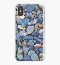 Wet Beach Stones iPhone Case