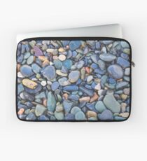 Wet Beach Stones Laptop Sleeve