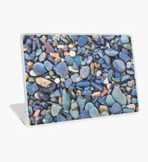 Wet Beach Stones Laptop Skin