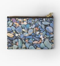 Wet Beach Stones Studio Pouch