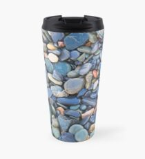 Wet Beach Stones Travel Mug