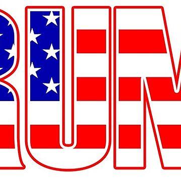Bandera de Trump USA de andrewcb15
