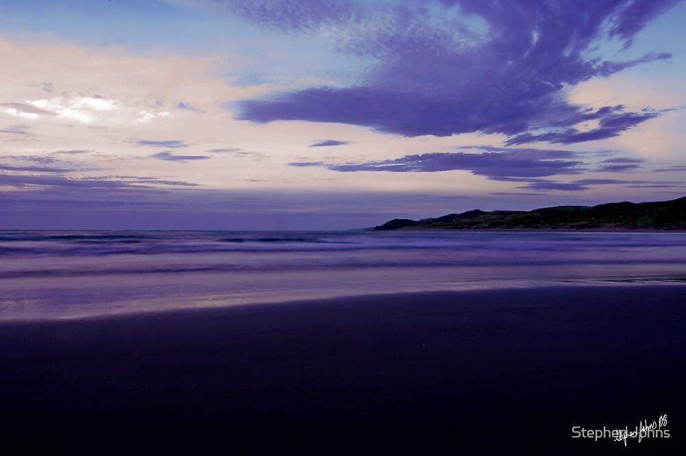 Raglan shore by Stephen Johns