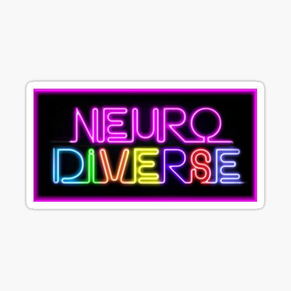 Neurodiverse Sticker