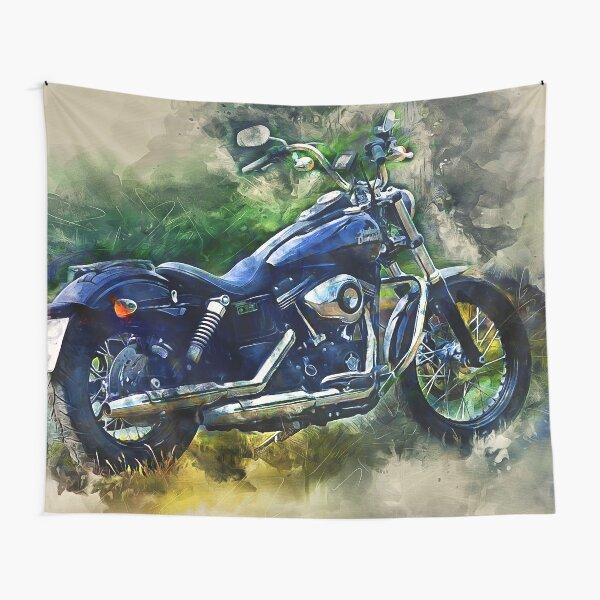 Harley Davidson Tapestry