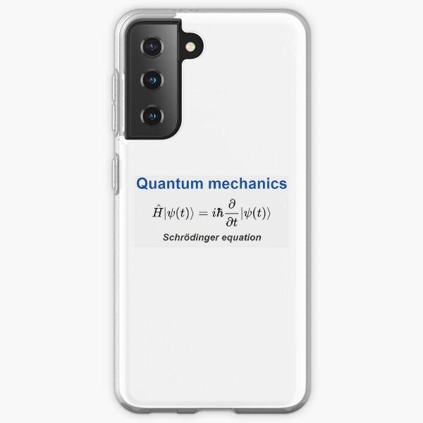 Schrödinger equation #Schrödinger #equation #Schrödingerequation Samsung Galaxy Soft Case